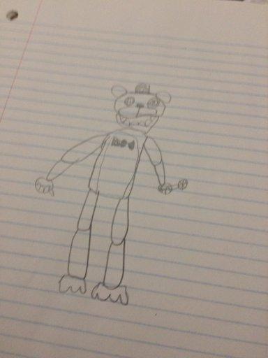 my fnaf drawings and fnaf plush 3