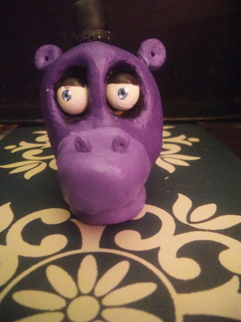 Clay Mr Hippo   Five Nights At Freddy's Amino