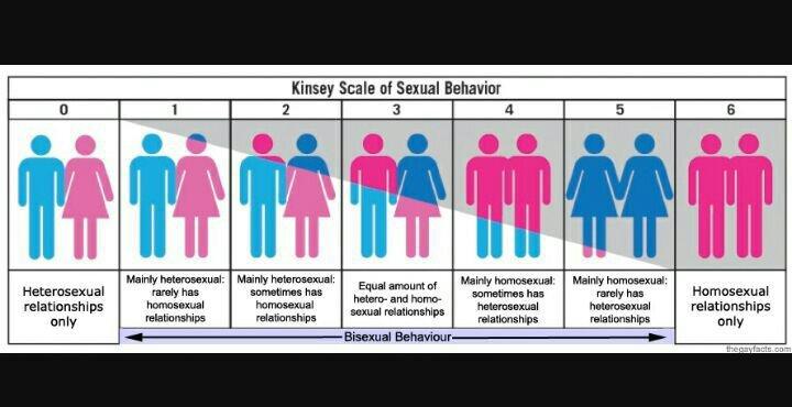 Heterosexual homosexual rating scale kinsey
