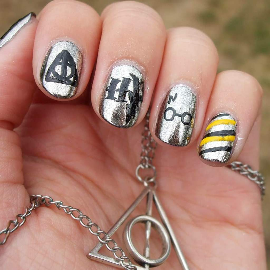 Harry Potter Nail Art Nail Art Amino