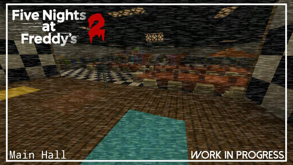 FNaF 2 Recreation in Minecraft | Five Nights At Freddy's Amino