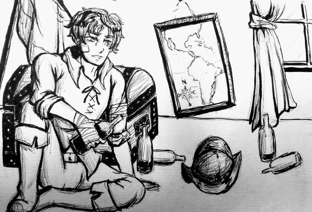 Bueno hice un dibujito en digital...   •Hetalia• Amino