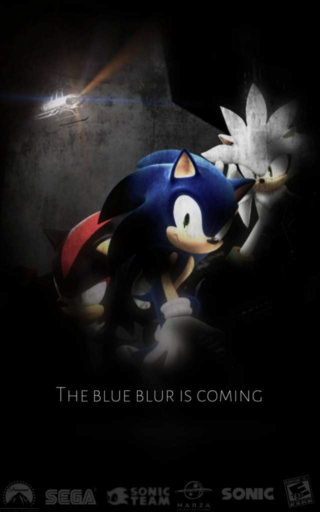 Poster Sonic Movie Sonic The Hedgehog Amino