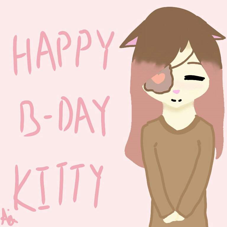 This Is To Commemorate My Friend KittyChrs Birthday Happy You Little Neko Ghoul Heres A Drawing For