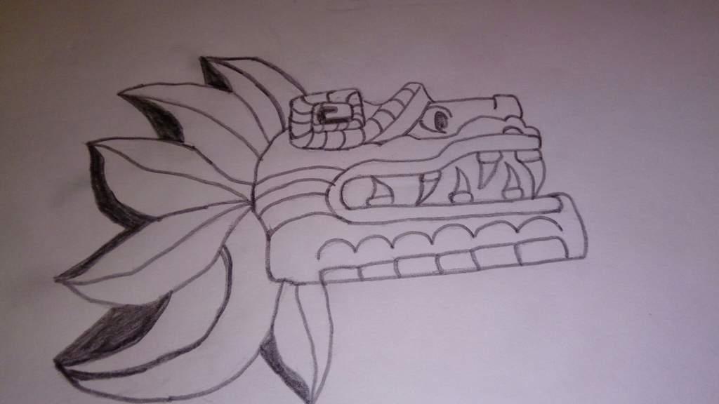 Dibujo De Quetzalcoatl Serpiente Emplumada Dibujarte Amino