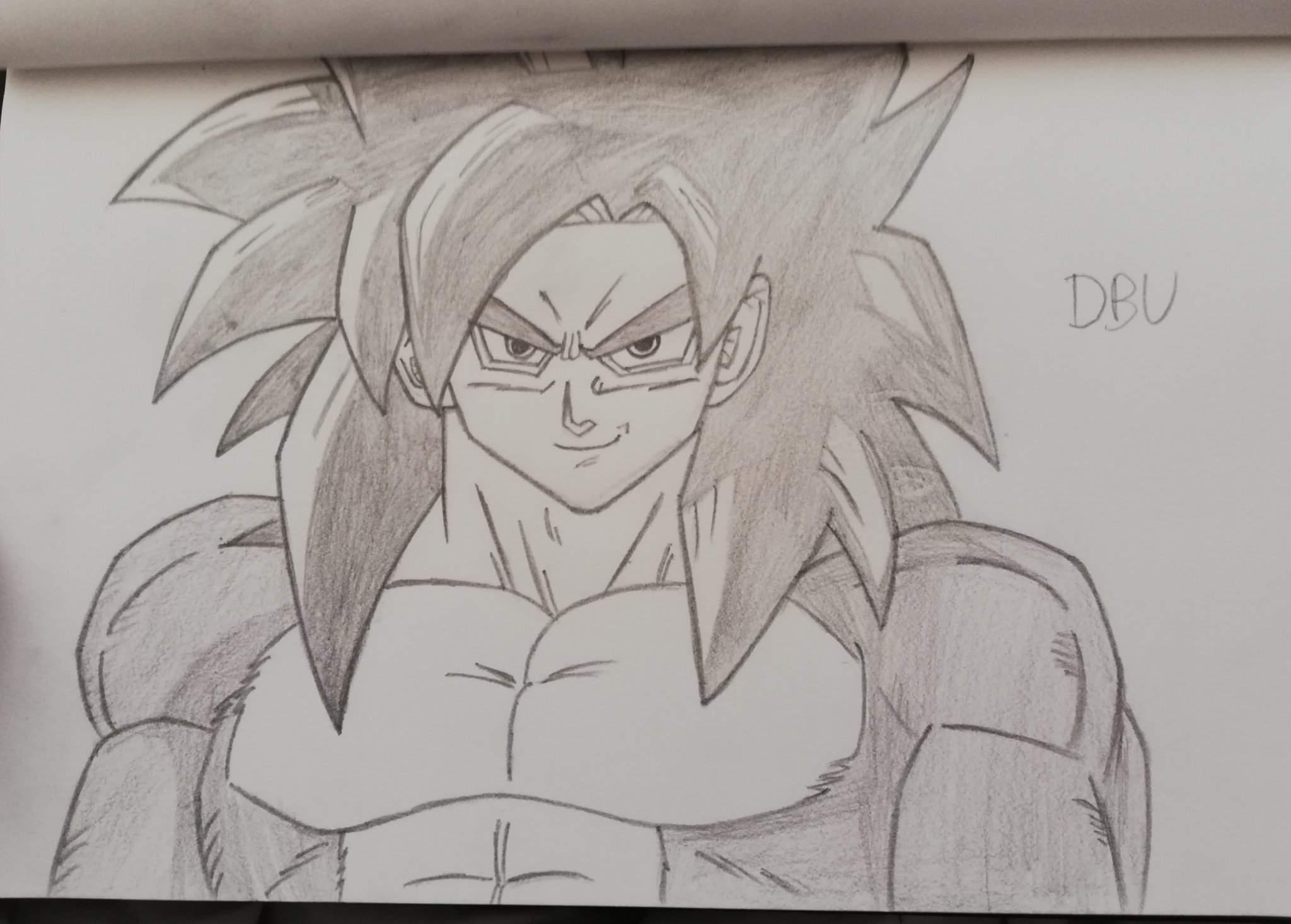 Petit Dessin De Goku Ssj4 Dragon Ball France Amino