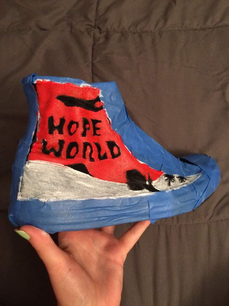 DIY Hope World Converse | ARMY's Amino