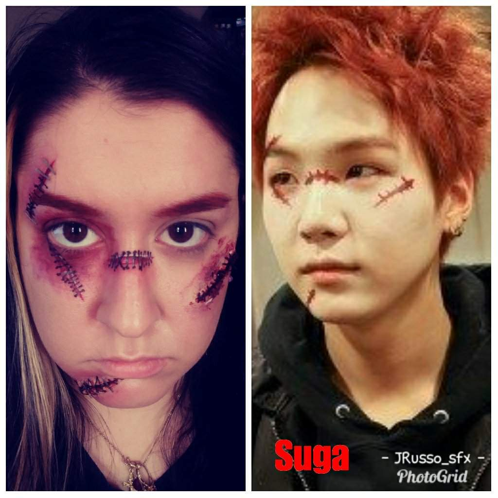 Bts Suga Costume Chuckykiller Doll Special Effects Makeup Amino