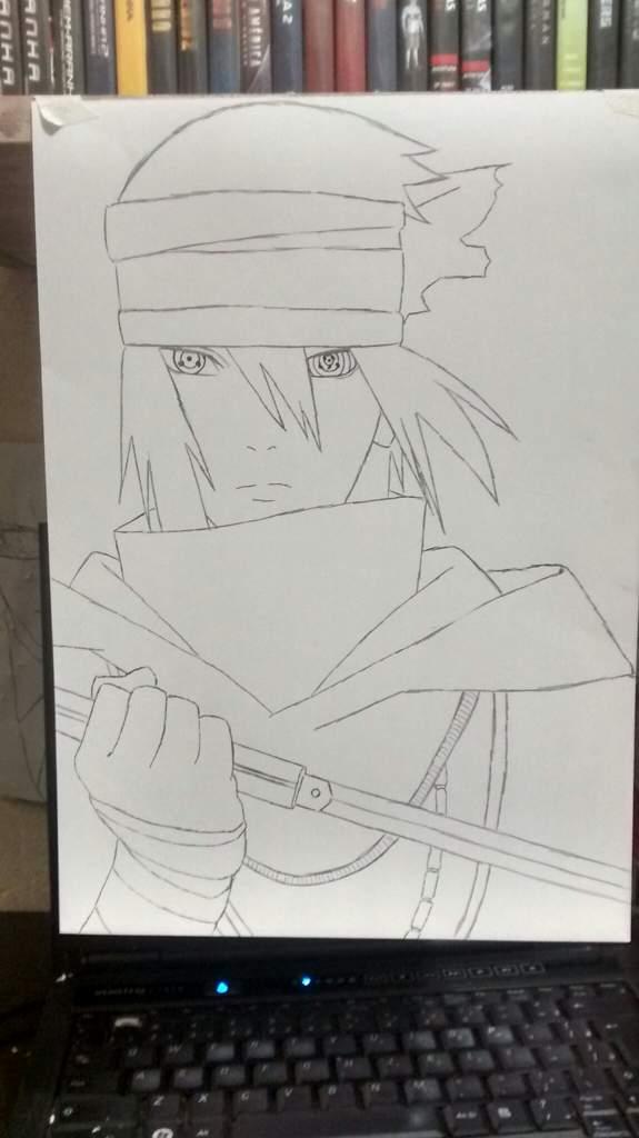 desenho sasuke naruto the last otanix amino
