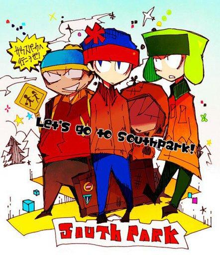 Slika South Park Anime Manga Style Fan Art From Japan Cartoon Amino