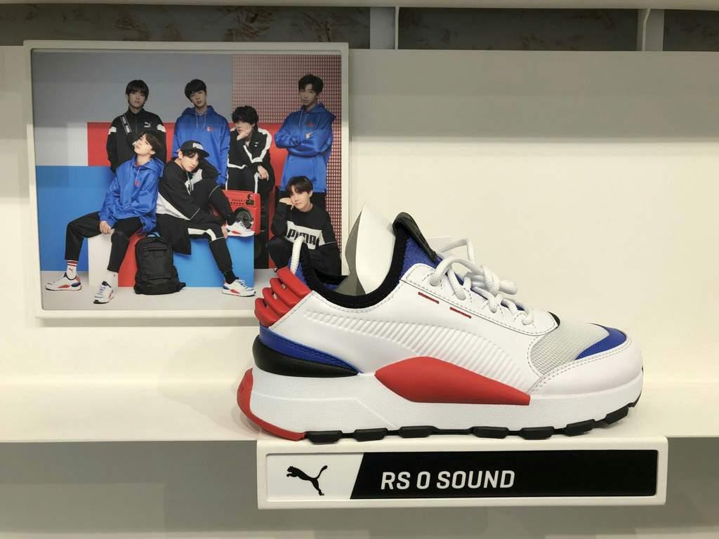 BTS X Puma.(RS O SOUND)   BTS Familyㅇ