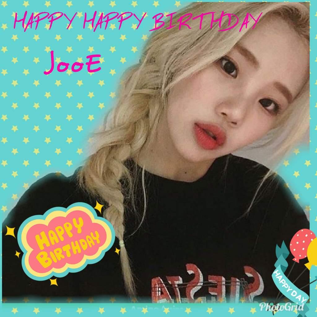 Happy Birthday JooE Edit
