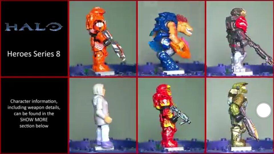 Review la serie héroes #8 halo mega construx | Halo Mega Bloks Amino