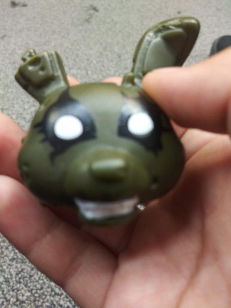 Cool Springtrap Toy I Got! (Bootleg?) | Five Nights At