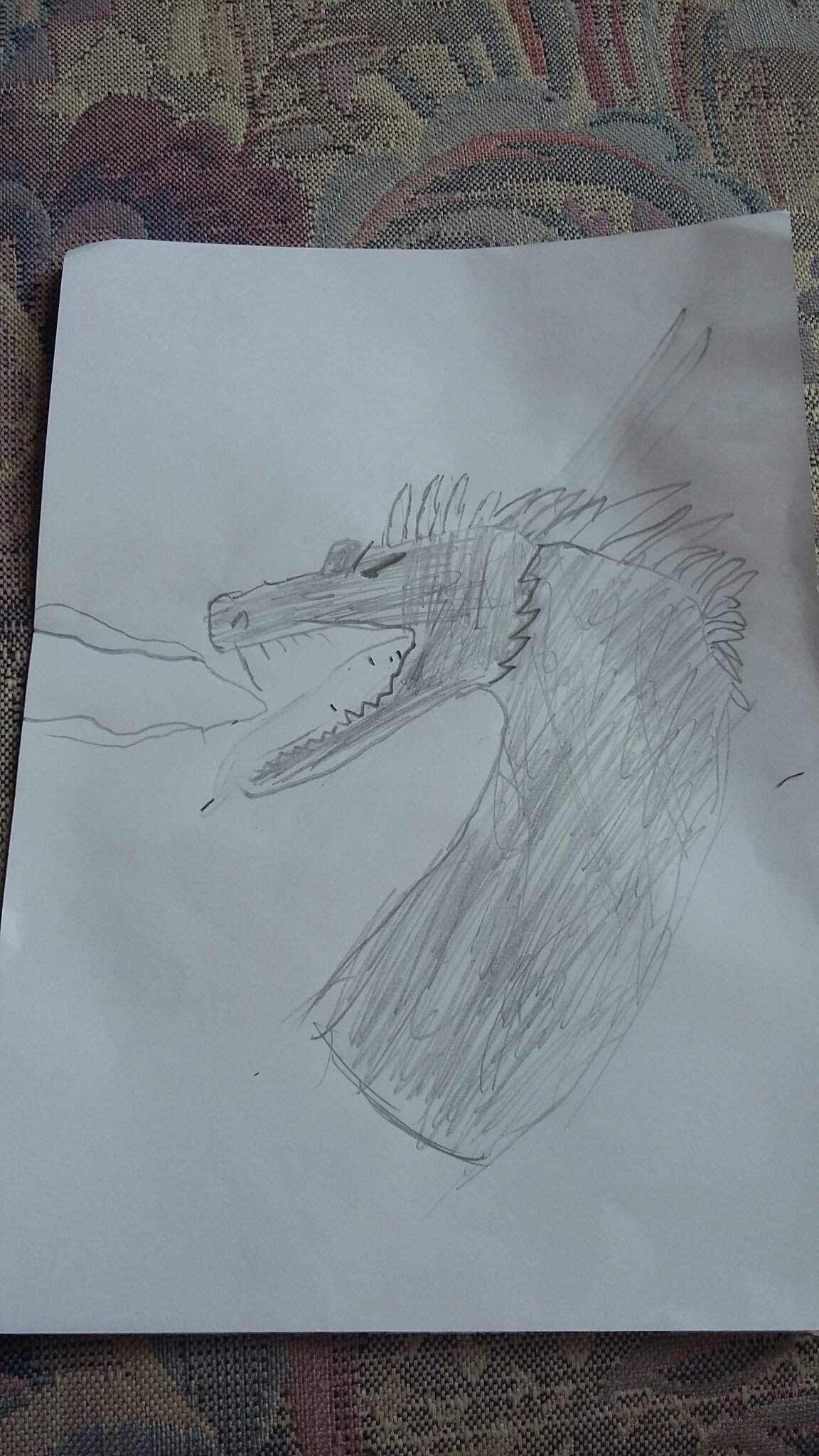 Bad Dragon Drawing