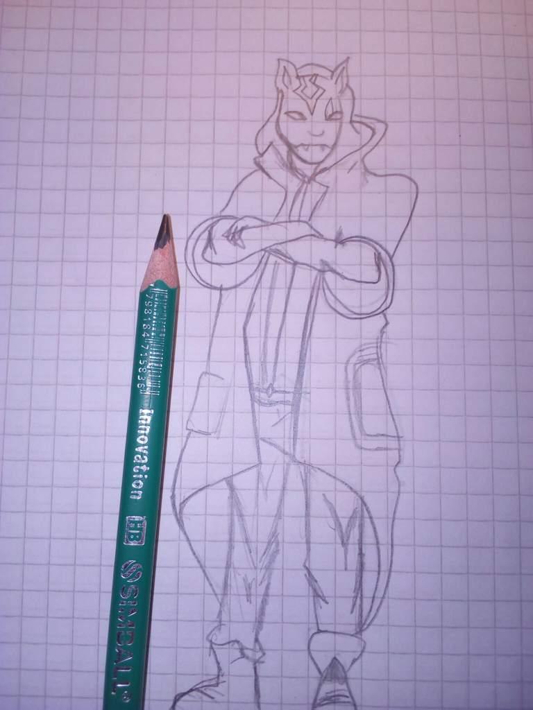 Blogamimodo Dibujo De Skin Del Fortnite Por La Encuesta Anterior
