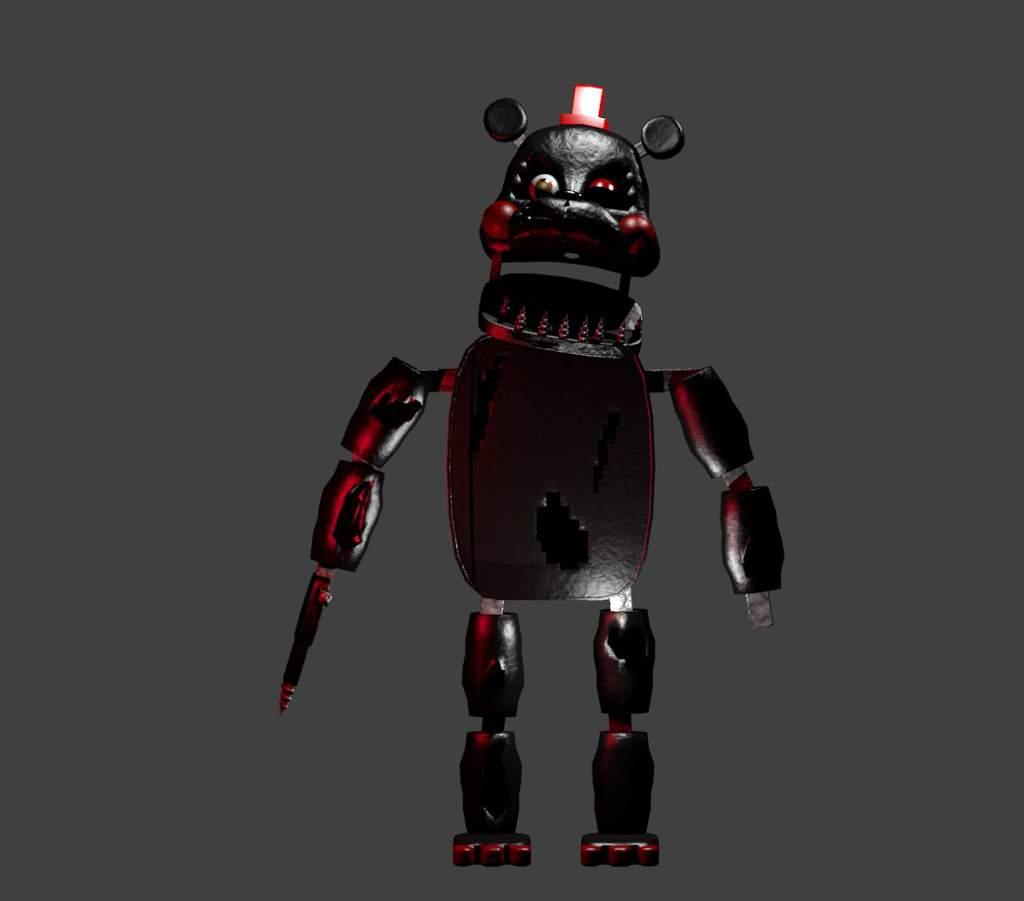 Nightmare Lefty COMPLETE (blender) | Five Nights At Freddy's
