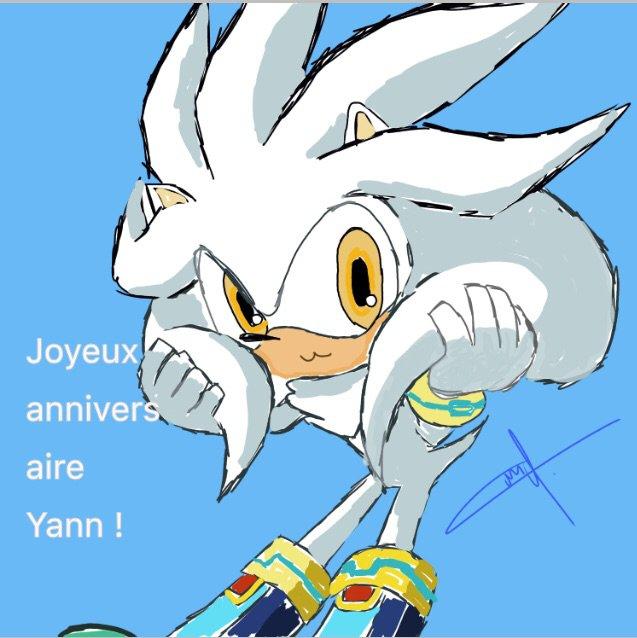 Joyeux Anniversaire Yann Sonic Fr Amino