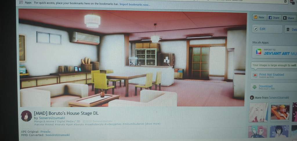 MMD] Boruto's House Stage converted by me | Naruto Amino