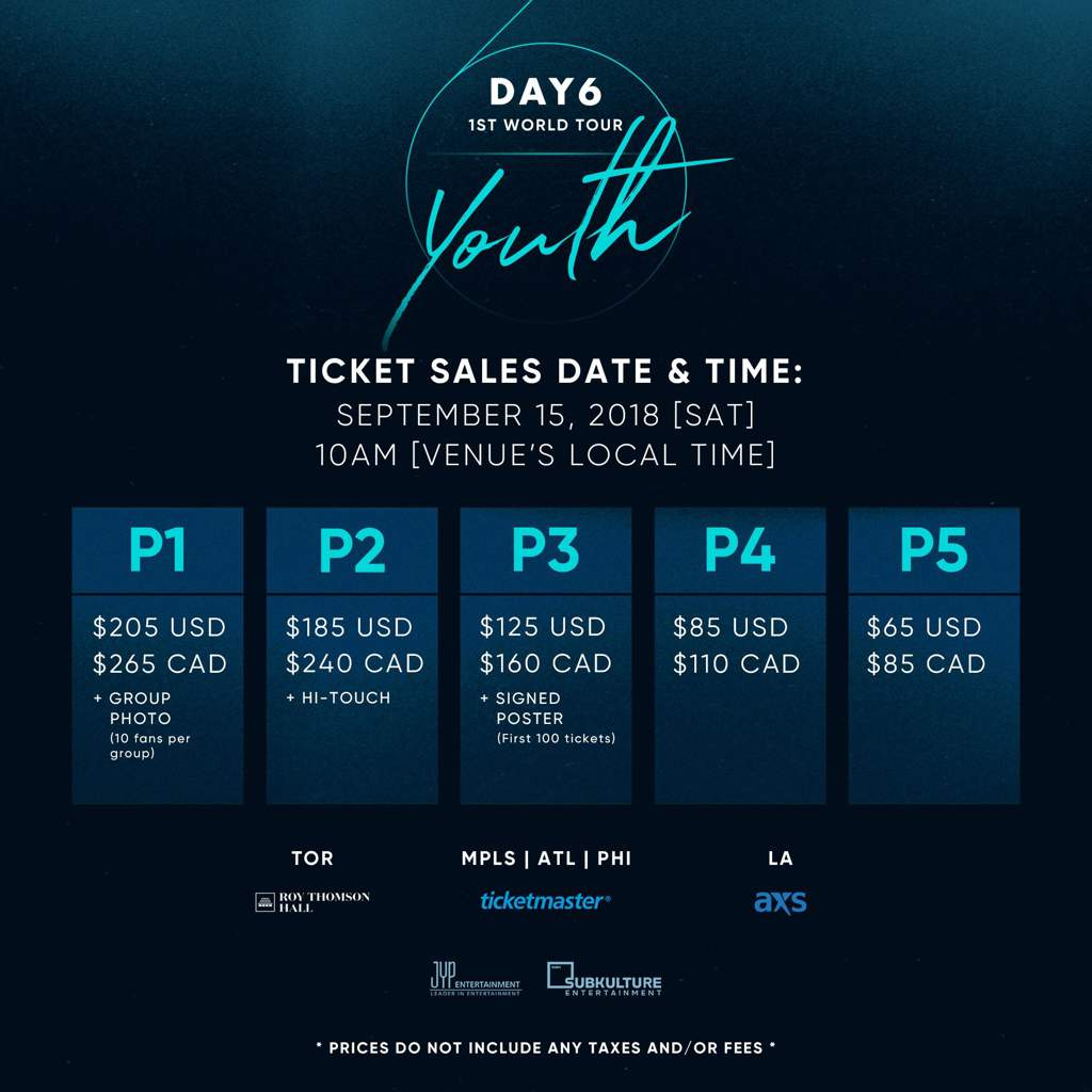 Image result for DAY6 YOUTH TICKETS SALES.jpg