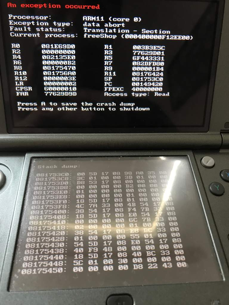 How to fix this? | Homebrew(3ds) Amino