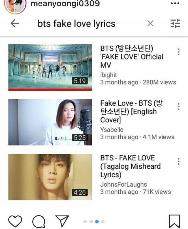 Fake Love Lyric Video Content Violation   ARMYSxEXOLS Amino
