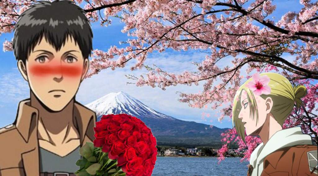 AOT Bertholdt and annie travel to japan | Attack On Titan Amino