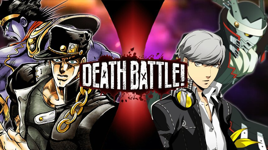 jotaro kujo vs yu narukami ultimate battle ep8 cartoon fight club