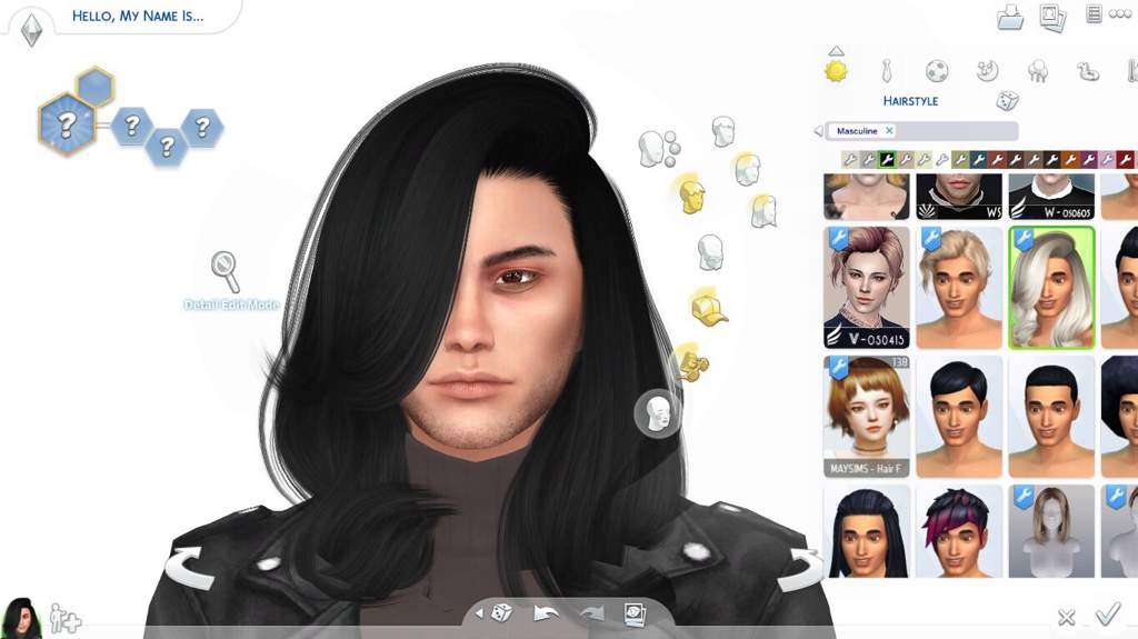 How To Convert Female Hair For Males Sims Amino