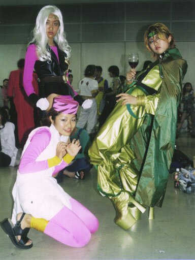 JoJo cosplays from the early 2000s (2000-2002, possibly 1999