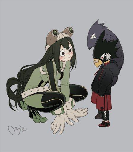 Image: Tokoyami Fumikage - Boku no Hero Academia - Zerochan Anime