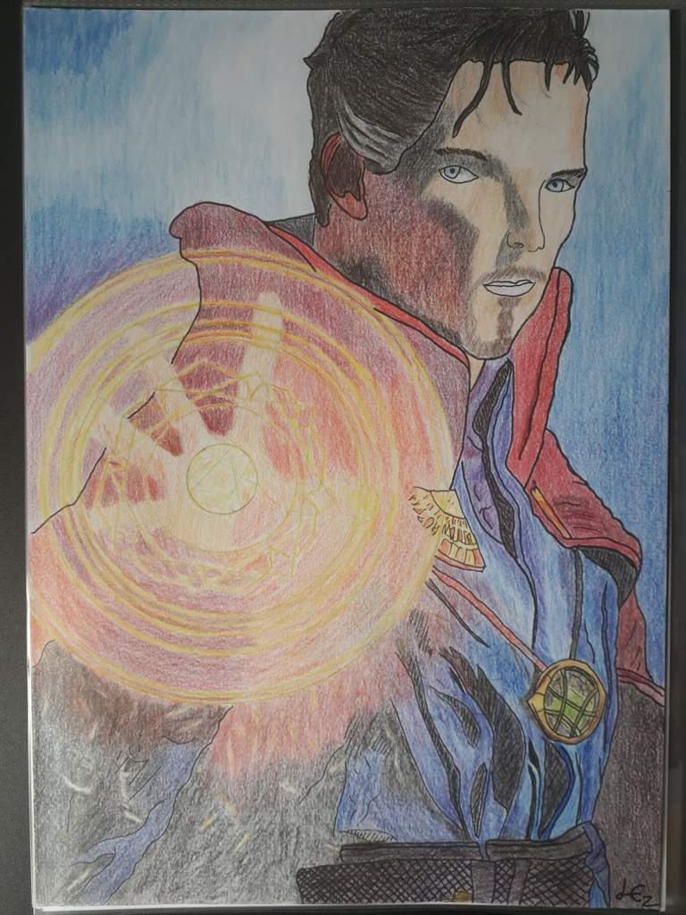 Dr strange drawing marvel amino