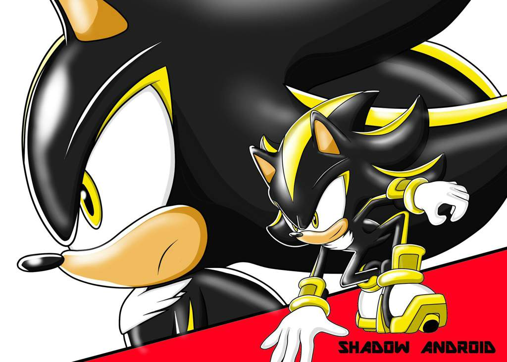 Android Shadow The Hedgehog Sonic The Hedgehog Amino