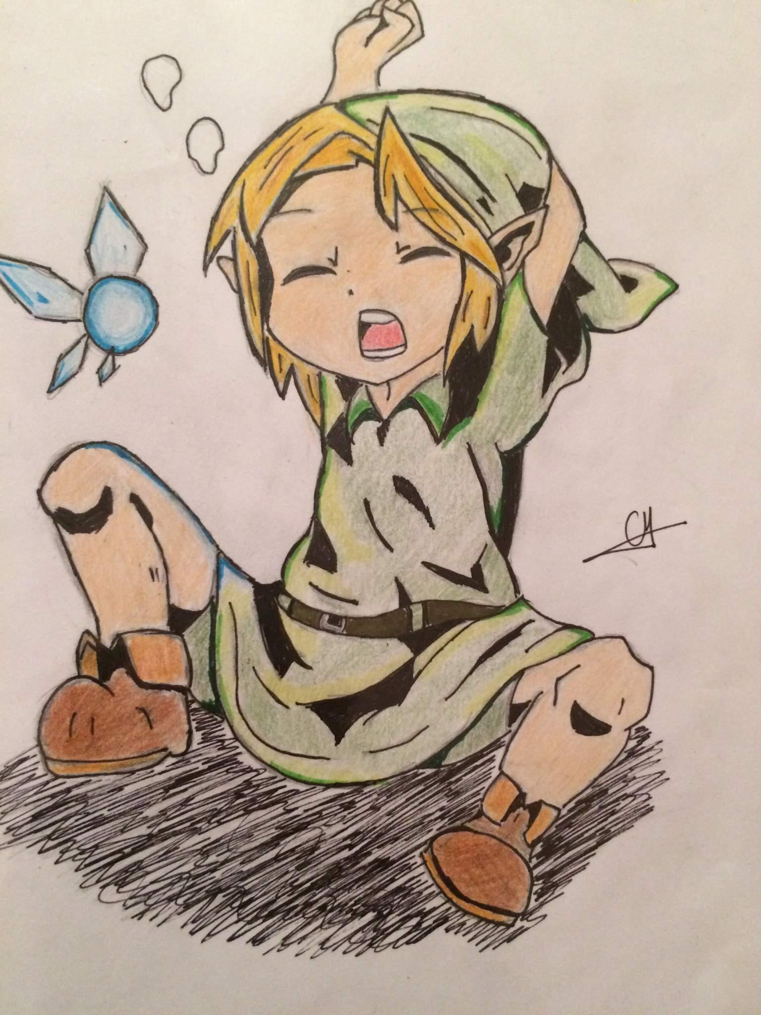 Dessin De Link Chibi The Legend Of Zelda Francais Amino