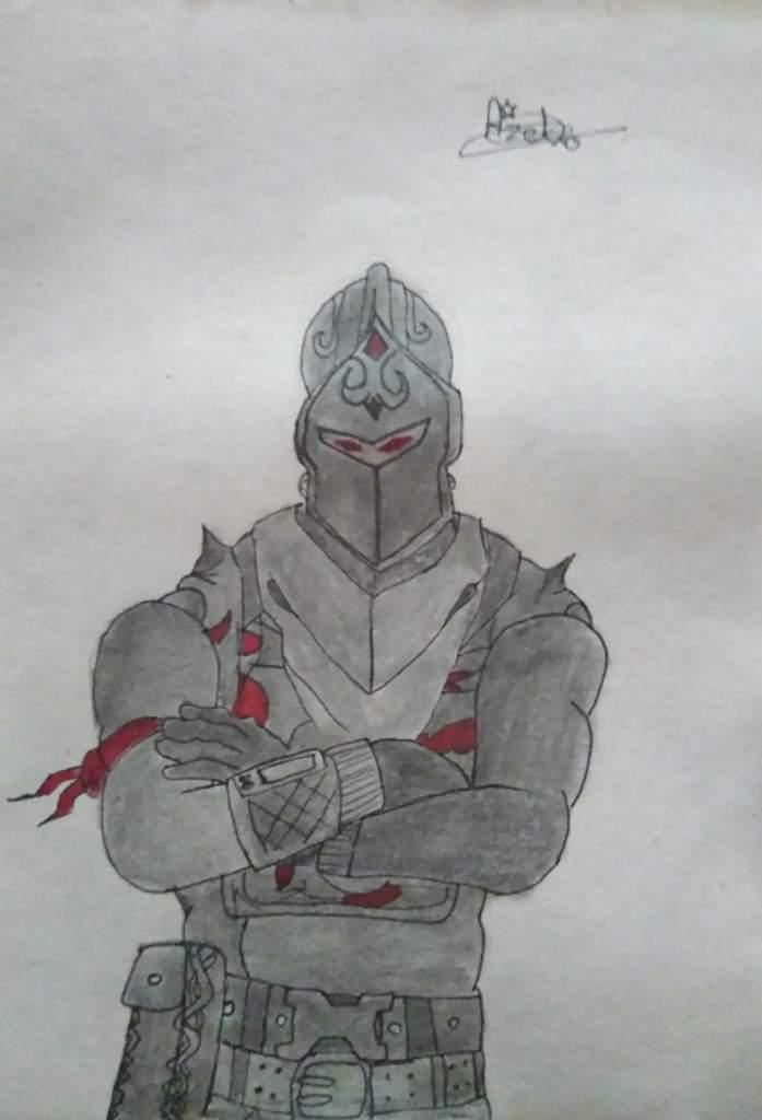 Chevalier Noir Dessin Fortnite Fr Amino