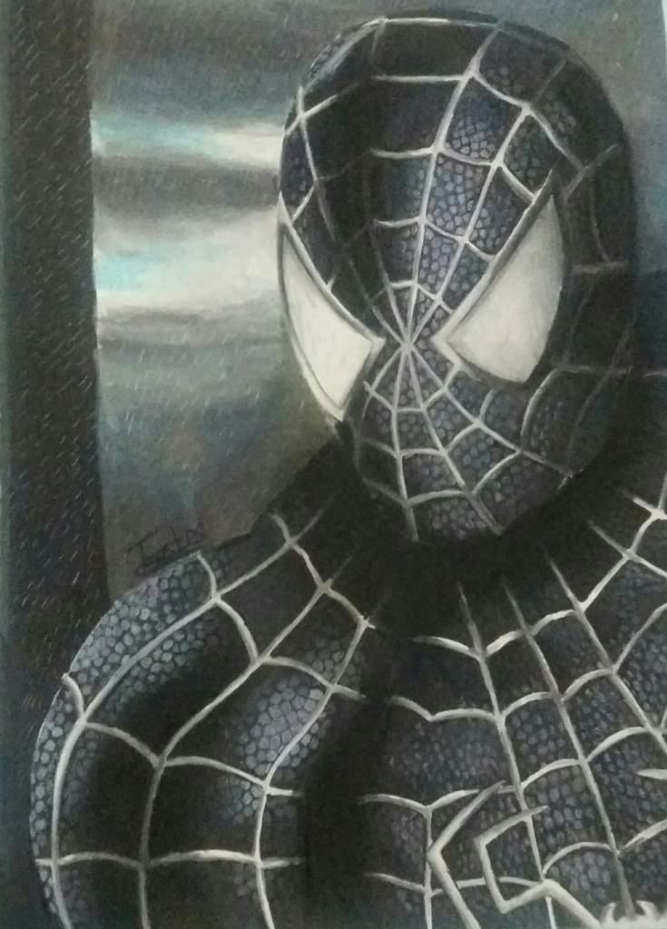 Hombre Arana Negro Arte Amino Amino
