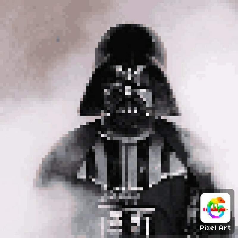 Dark Vador Pixel Art