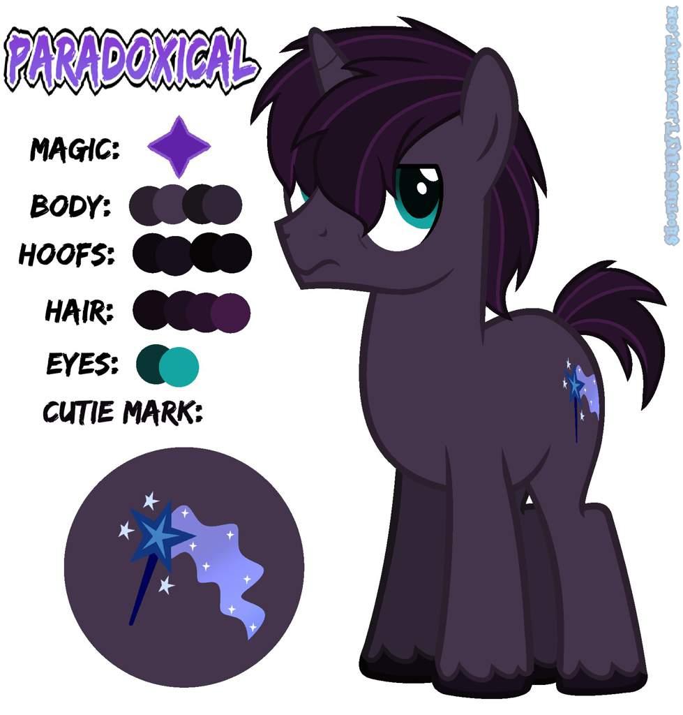 MLP NextGen OC: Paradoxical | Equestria Amino