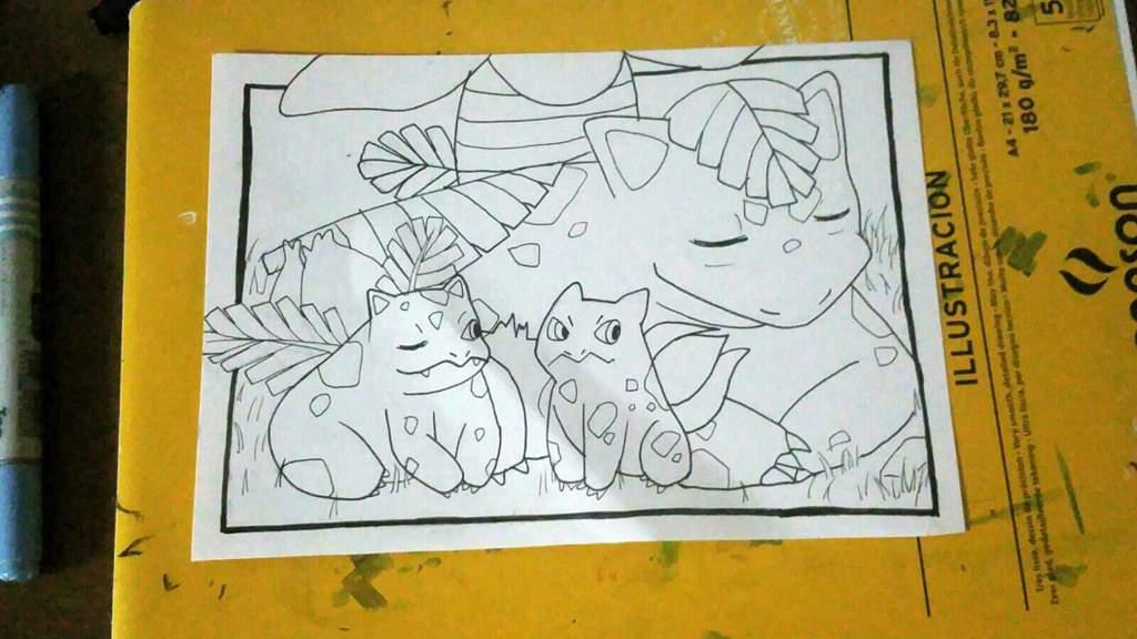 Día 19: Bulbasaur y su línea evolutiva. //31 Días Dibujando Extremo ...