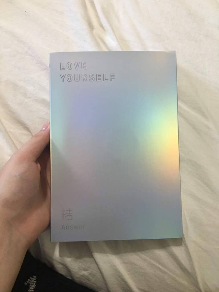 Love Yourself Answer Album Unboxing Army S Amino