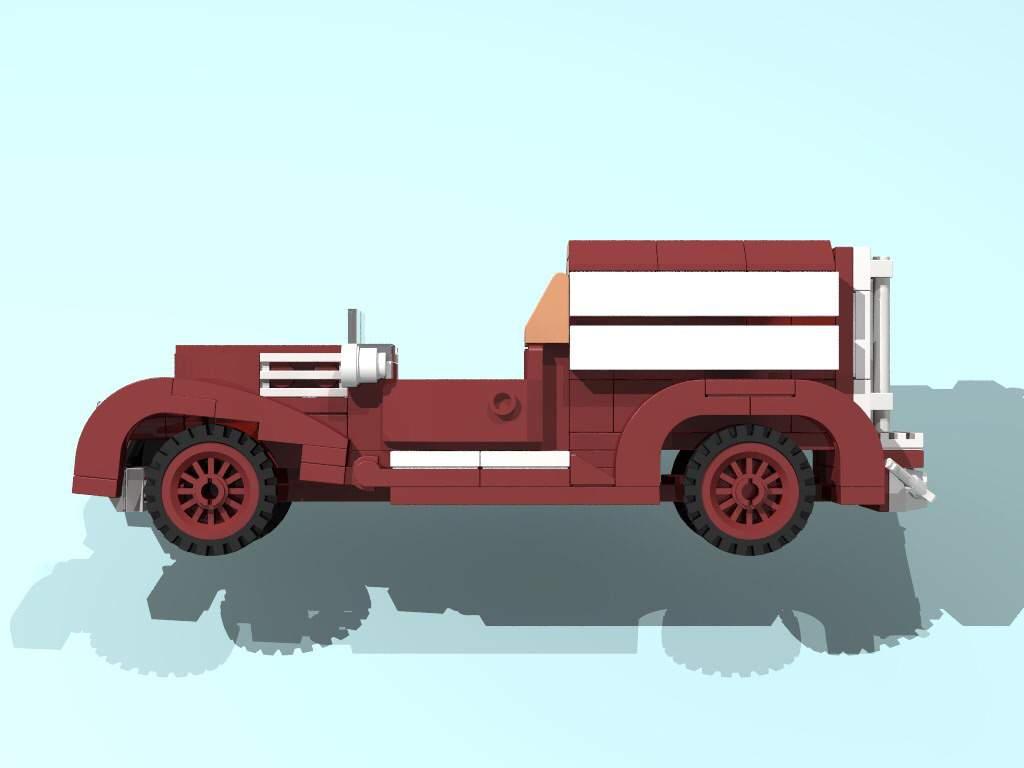 1927 MMC Fire Engine   LEGO Amino