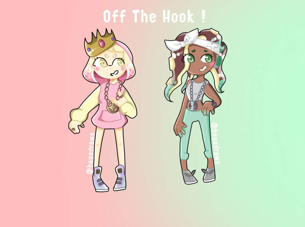 Off The Hook Splatoon Amino