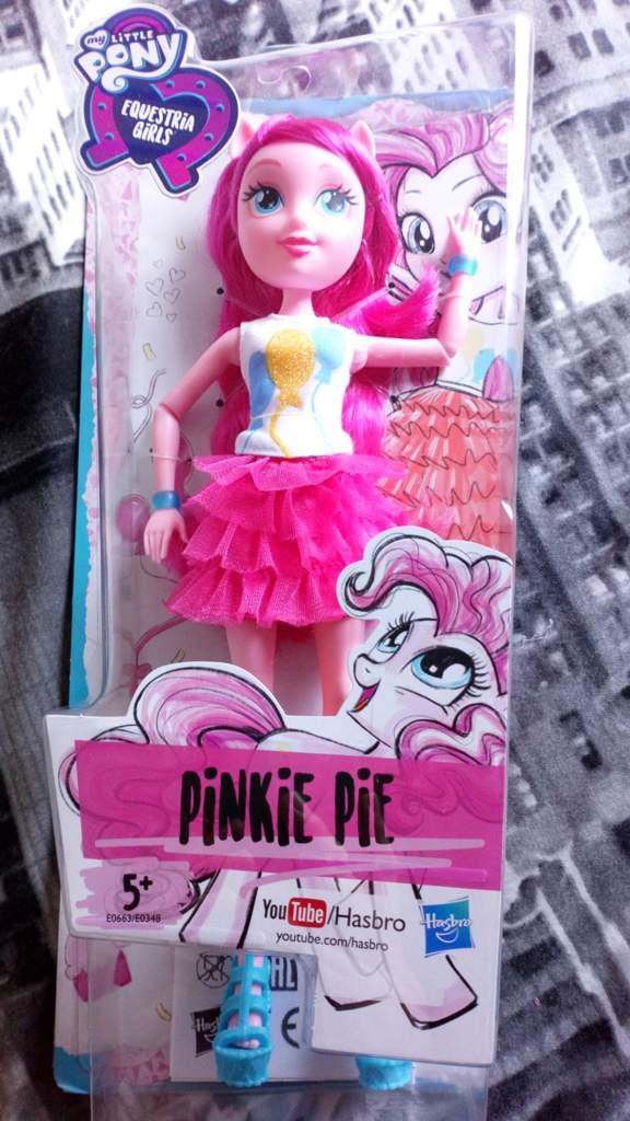 EQG reboot pinkie pie doll review | Equestria Amino