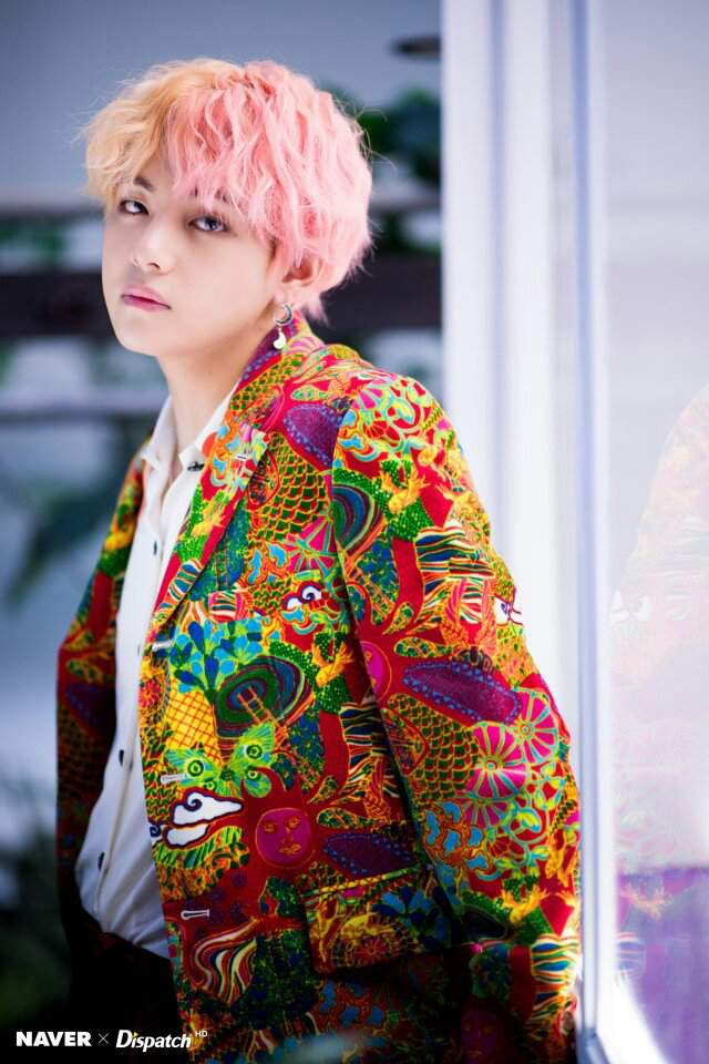 Bts Naver X Dispatch Idol Photoshoot Pictures Taehyung
