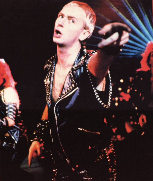 Rob Halford is just another dude. What I want from all of you is to bring  up Rob Halford and just talk about how cool his fucking music is and not  mention ...