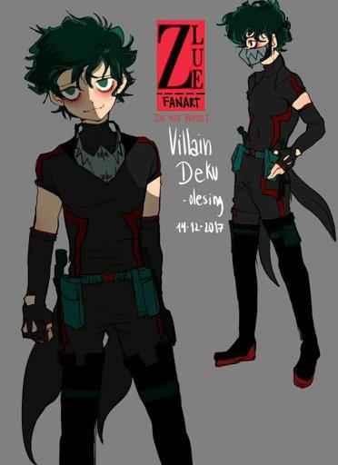 Image My Hero Academia Bnha Villain Izuku Midoriya