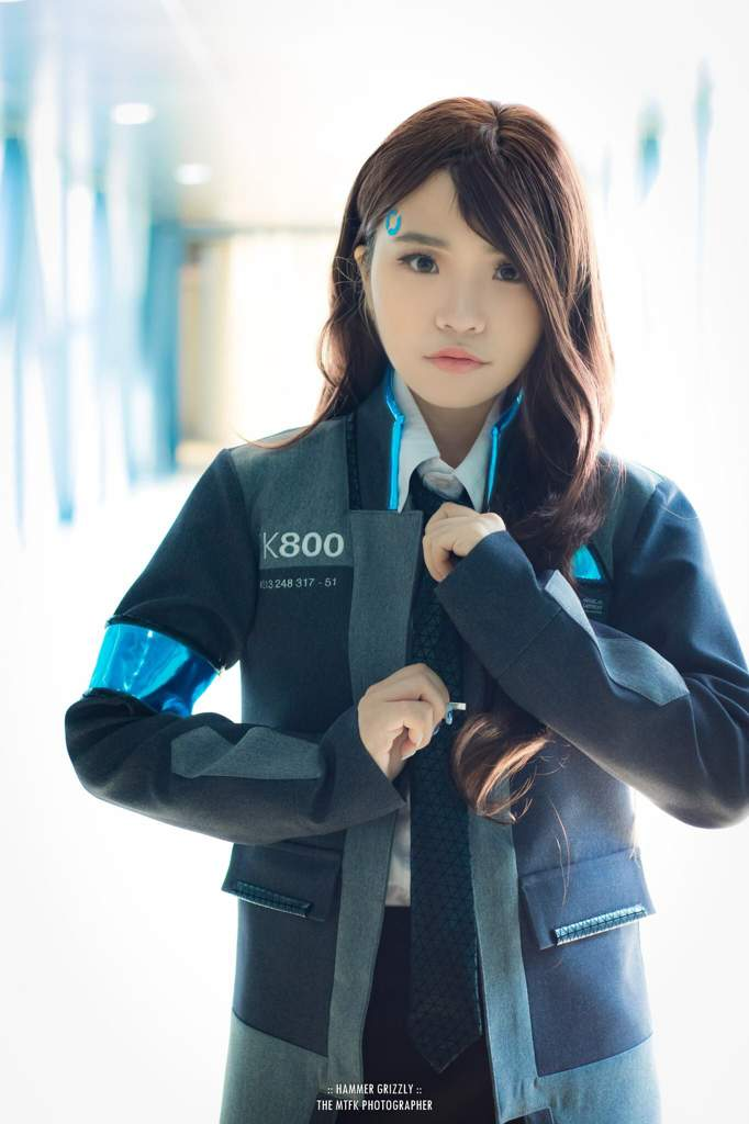 Female Connor Cosplay Detroit Become Human Official Amino