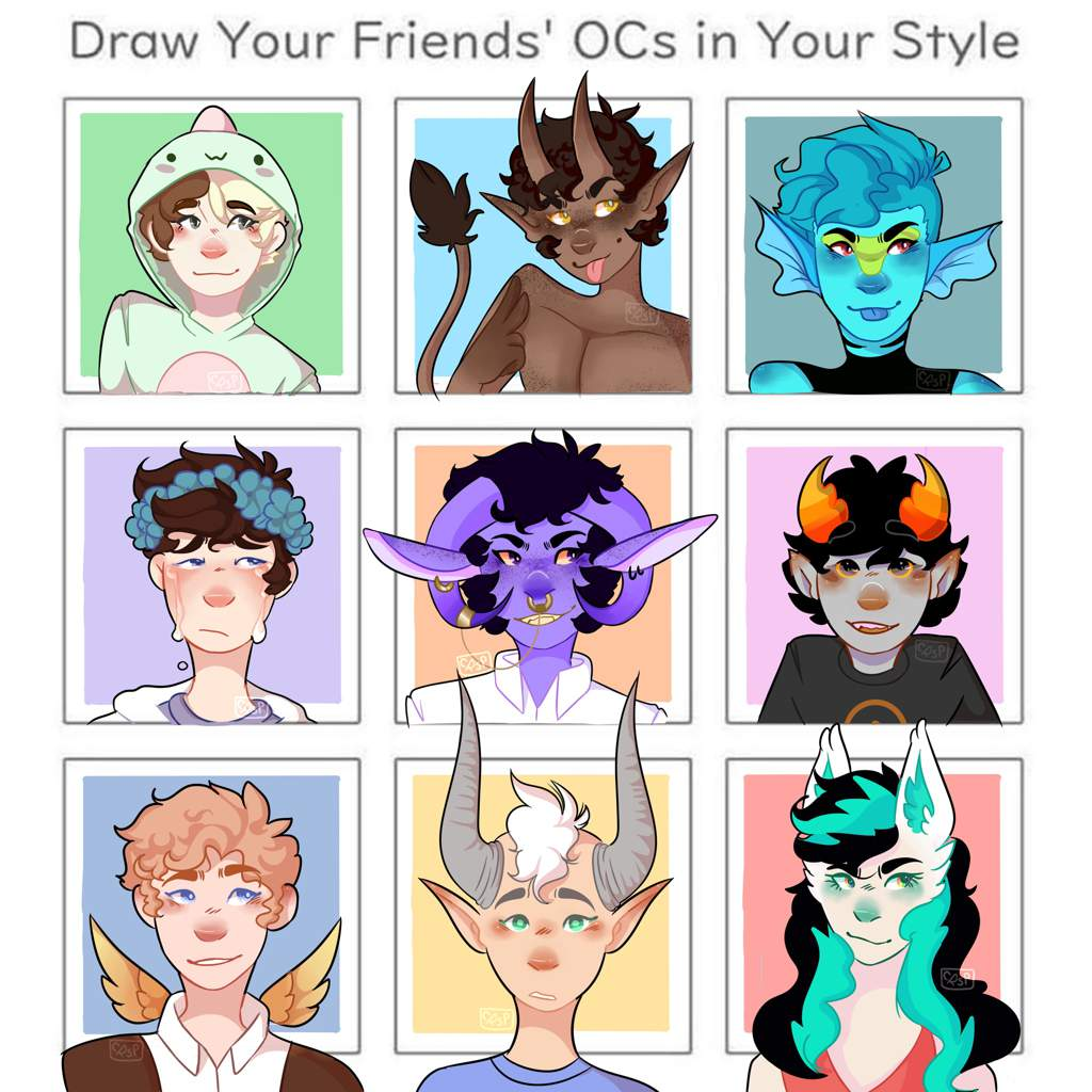 Draw Your Friends Ocs Drawing Amino