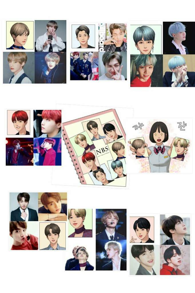 BTS appeared in one of the most popular e-comics!! | Park Jimin Amino