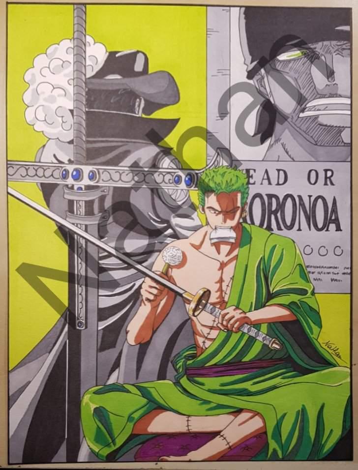 Nouveau Dessin Zoro One Piece Amino
